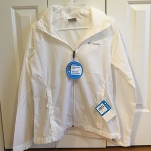 White Columbia Rain Jacket